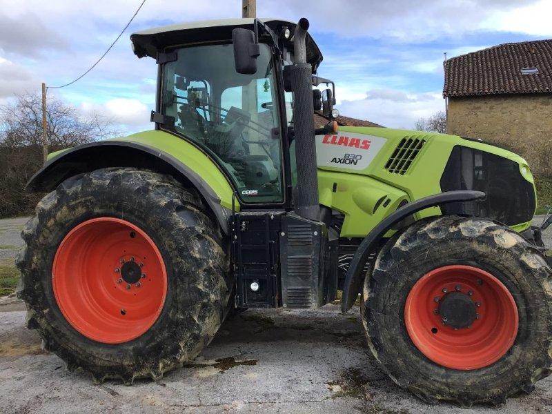 Traktor типа CLAAS AXION 830 CEBIS, Gebrauchtmaschine в BOULOGNE SUR GESSE (Фотография 1)