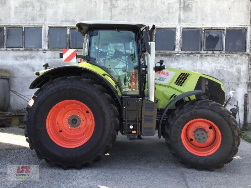 Traktor des Typs CLAAS AXION 830 CMATIC  CEBIS CLAAS, Vorführmaschine in Hartmannsdorf (Bild 1)