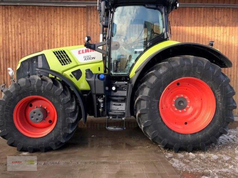 Traktor del tipo CLAAS AXION 830 CMATIC CEBIS, Gebrauchtmaschine en Frieberting (Imagen 1)