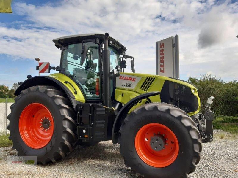 Traktor des Typs CLAAS AXION 830 CMATIC CEBIS, Vorführmaschine in Mengkofen (Bild 1)