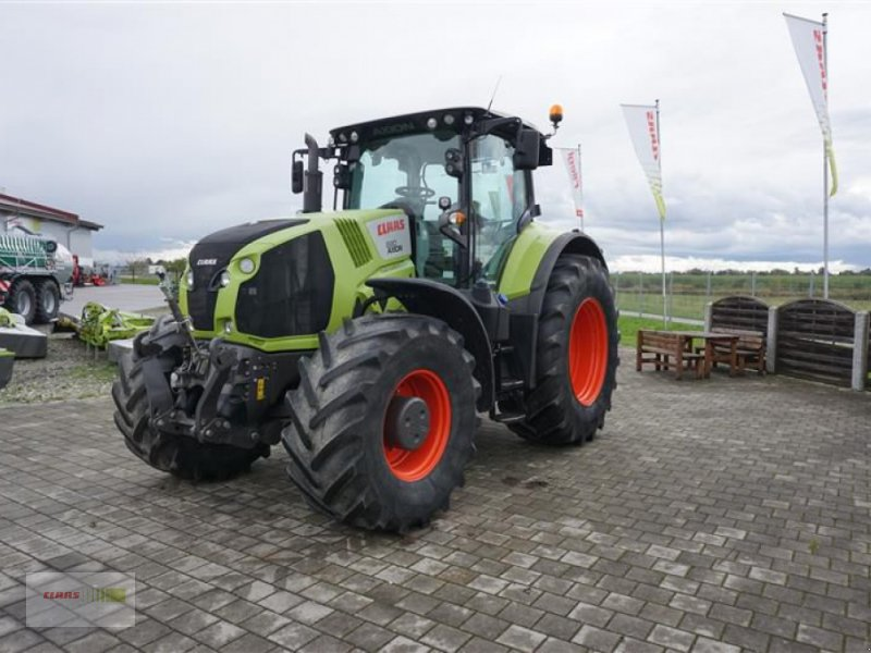 Traktor des Typs CLAAS AXION 830 CMATIC CEBIS, Gebrauchtmaschine in Töging a. Inn (Bild 3)