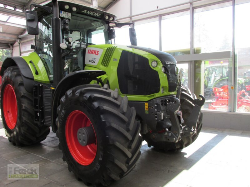 Traktor типа CLAAS Axion 830  CMATIC CEBIS, Gebrauchtmaschine в Reinheim (Фотография 1)