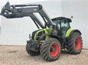 Traktor типа CLAAS AXION 830 CMATIC + Frontlader Quicke Q88, Gebrauchtmaschine в Landsberg
