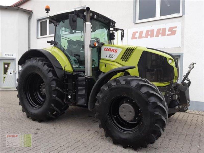 Traktor des Typs CLAAS AXION 830 CMATIC, Gebrauchtmaschine in Aurach (Bild 1)