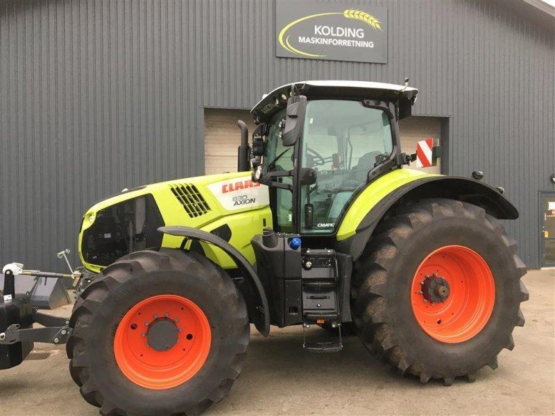 Traktor des Typs CLAAS AXION 830 CMATIC, Gebrauchtmaschine in Kolding (Bild 1)