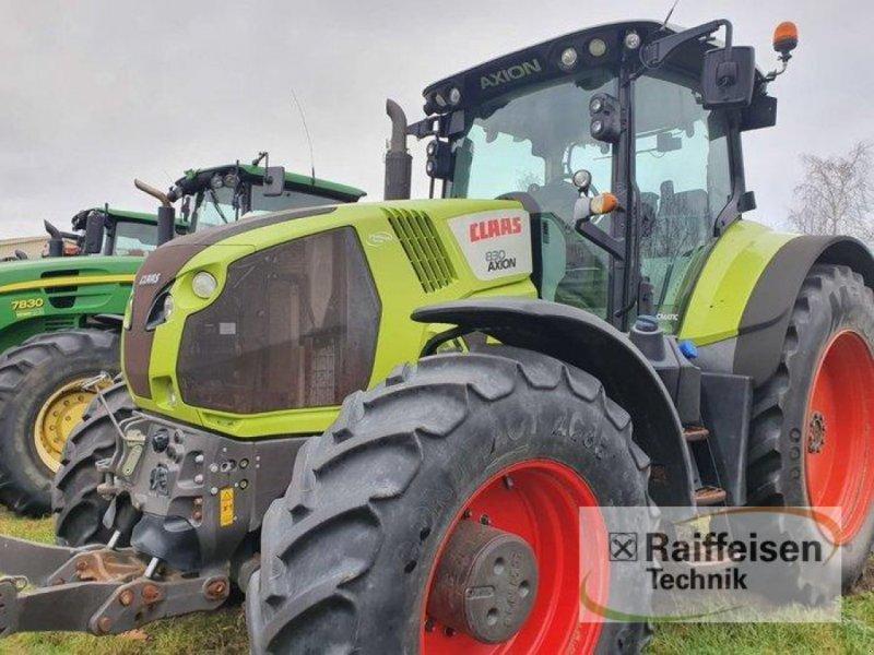 Traktor des Typs CLAAS Axion 830 CMATIC, Gebrauchtmaschine in Kruckow (Bild 9)