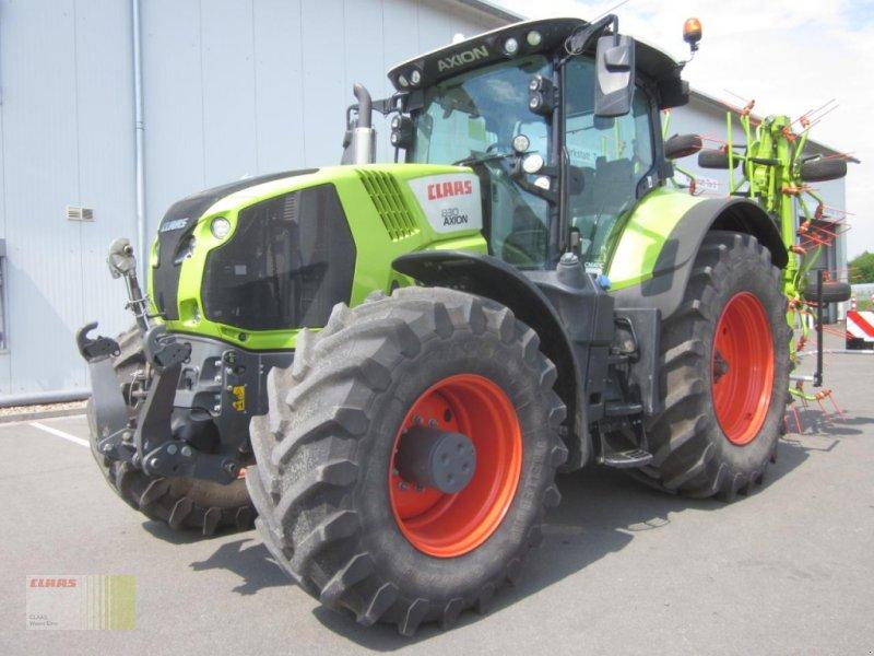 Traktor типа CLAAS AXION 830 CMATIC, Gebrauchtmaschine в Westerstede (Фотография 1)