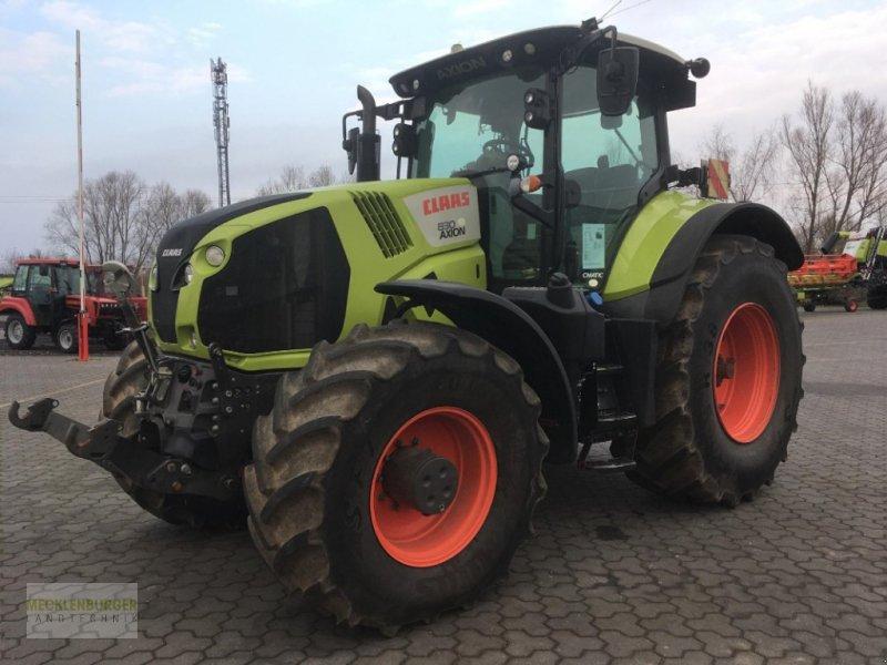 Traktor типа CLAAS Axion 830 Cmatic, Gebrauchtmaschine в Gülzow-Prüzen OT Mühlengeez (Фотография 1)