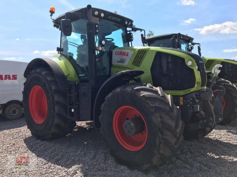 Traktor des Typs CLAAS AXION 830 CMATIC, Gebrauchtmaschine in Hartmannsdorf (Bild 1)