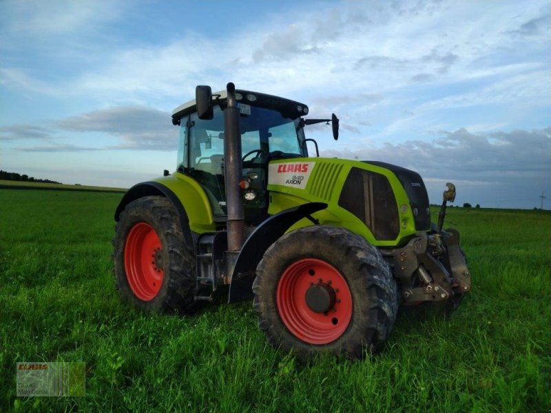 Traktor des Typs CLAAS Axion 840 CEBIS, Gebrauchtmaschine in Heilsbronn (Bild 1)