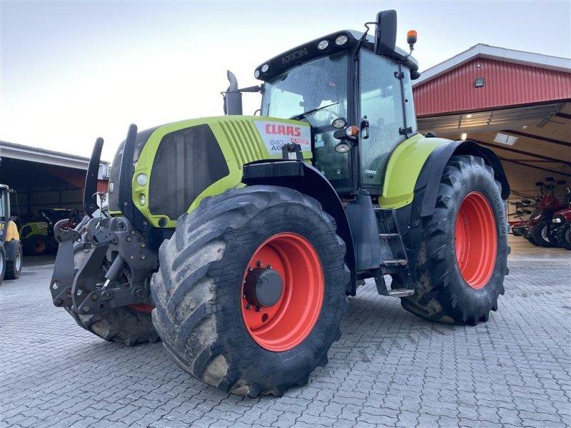 Traktor типа CLAAS Axion 840 CMatic MED ÅLØ FRONTLÆSSER BESLAG!, Gebrauchtmaschine в Aalestrup (Фотография 1)