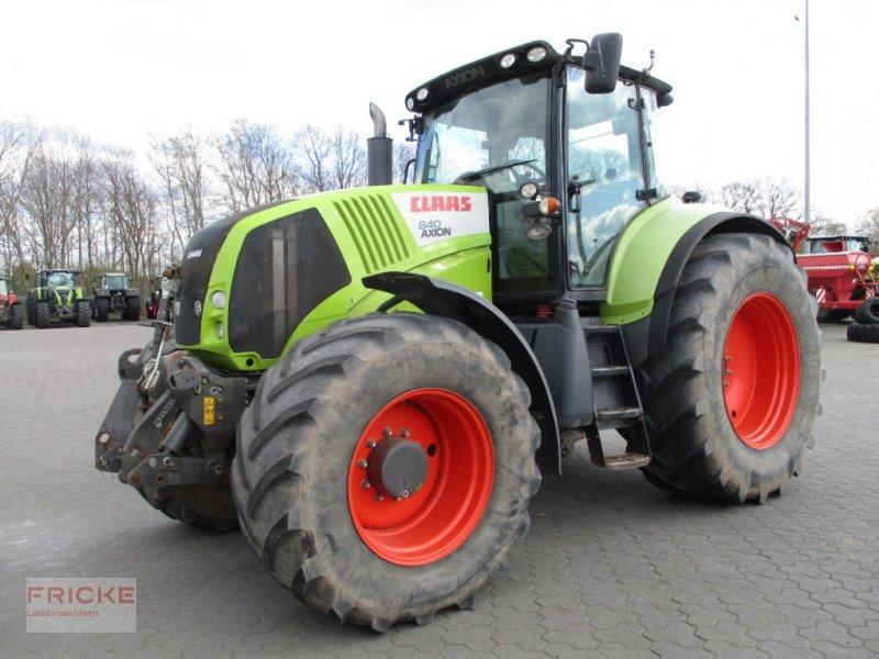 Traktor типа CLAAS AXION 840 CMATIC -nur 3872 Stunden-, Gebrauchtmaschine в Bockel - Gyhum (Фотография 1)