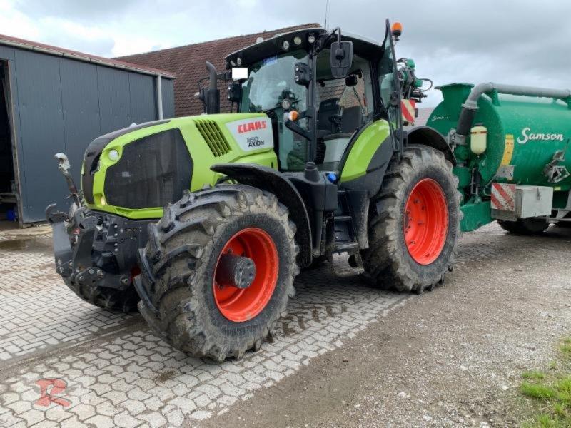 Traktor типа CLAAS AXION 850 C-MATIC, Gebrauchtmaschine в Friedeburg (Фотография 1)