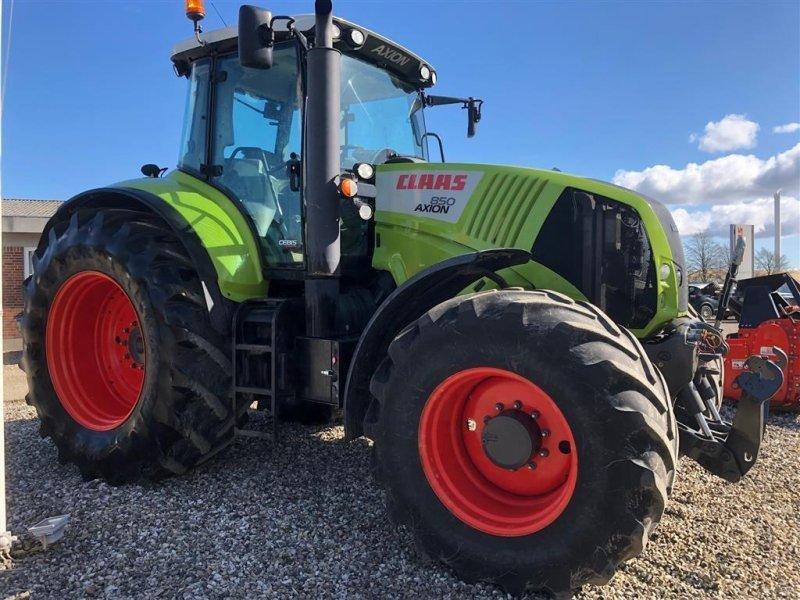 Traktor del tipo CLAAS Axion 850 cebis MODEL MED 5,4 T FRONTLIFT, Gebrauchtmaschine en Kjellerup (Imagen 2)