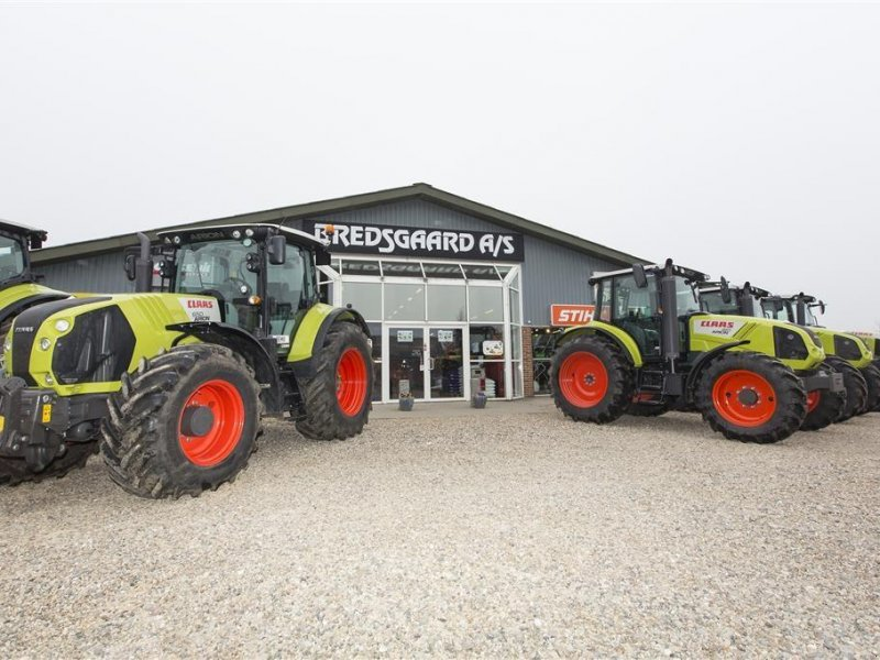 Traktor del tipo CLAAS Axion 850 cebis MODEL MED 5,4 T FRONTLIFT, Gebrauchtmaschine en Kjellerup (Imagen 6)