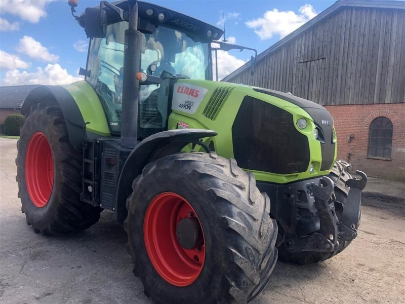 Traktor типа CLAAS Axion 850 cebis, Gebrauchtmaschine в Bredebo (Фотография 1)