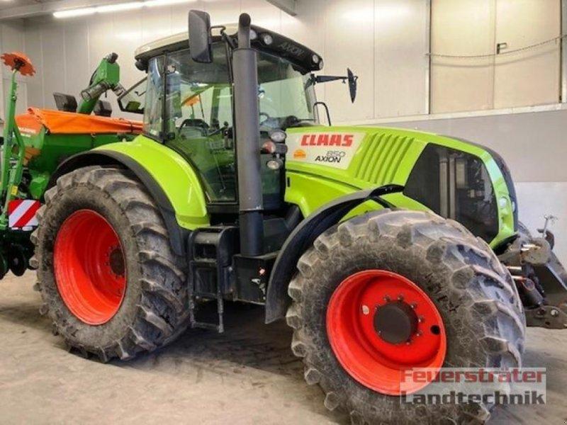 Traktor des Typs CLAAS AXION 850 CEBIS, Gebrauchtmaschine in Beelen (Bild 1)