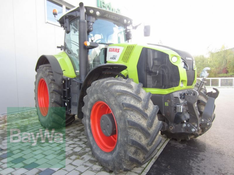 Traktor του τύπου CLAAS AXION 850 CEBIS, Gebrauchtmaschine σε Großweitzschen  (Φωτογραφία 2)