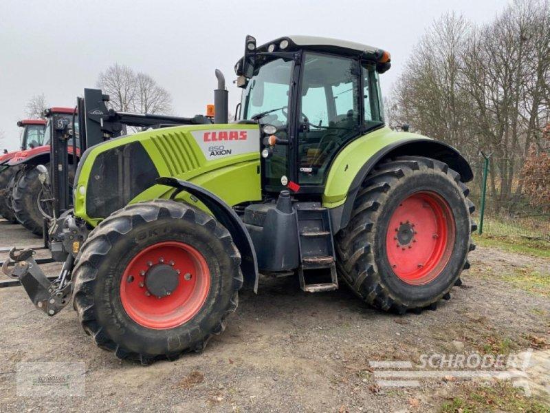 Traktor del tipo CLAAS AXION 850 CEBIS, Gebrauchtmaschine en Friedland (Imagen 1)