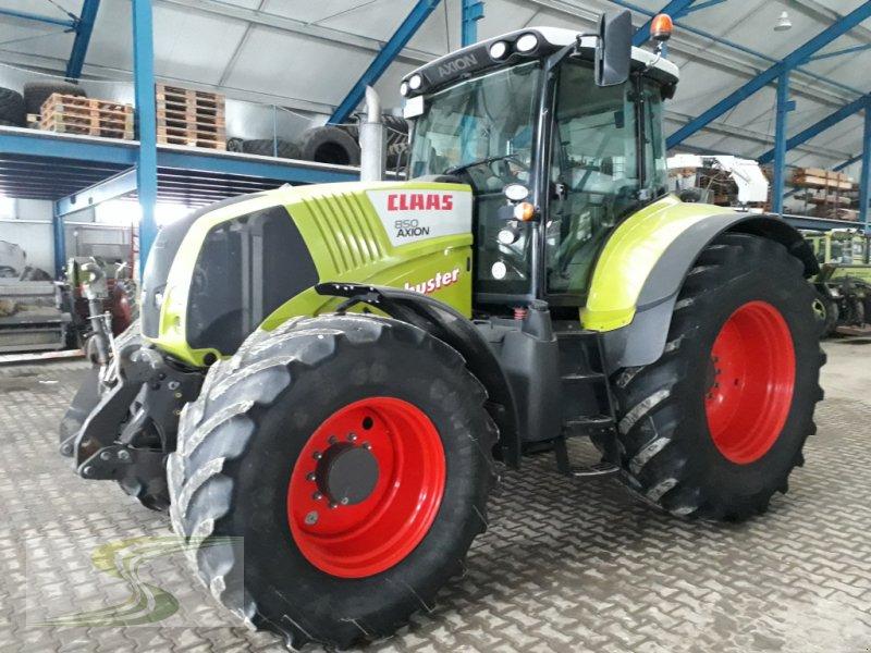 Traktor des Typs CLAAS Axion 850 CIS, Gebrauchtmaschine in Stetten-Erisried (Bild 1)