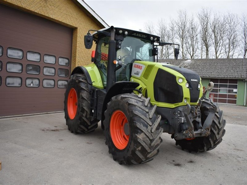 Traktor del tipo CLAAS AXION 850 CMATIC, Gebrauchtmaschine en Grindsted (Imagen 4)