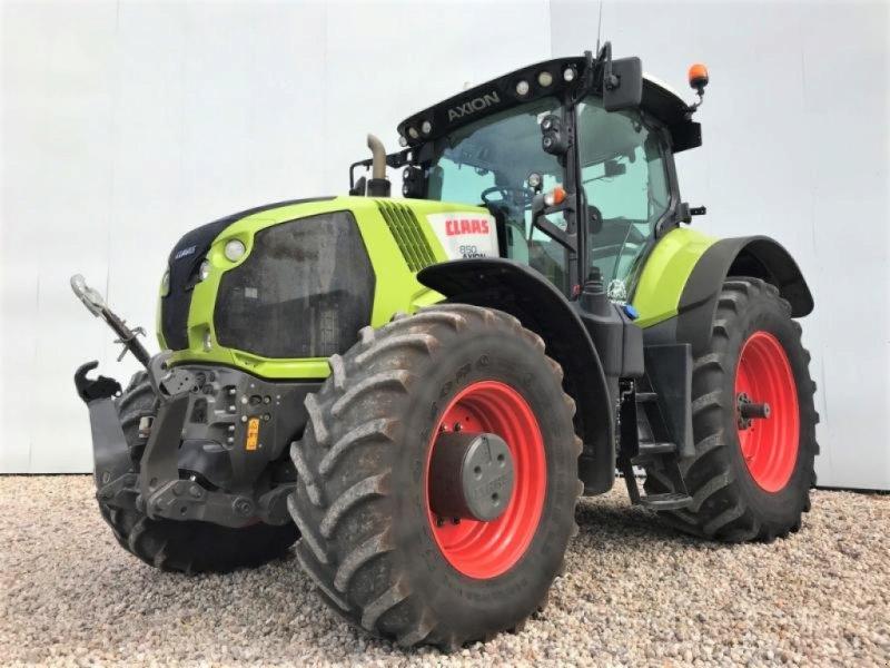 Traktor des Typs CLAAS AXION 850 CMATIC, Gebrauchtmaschine in Landsberg (Bild 1)