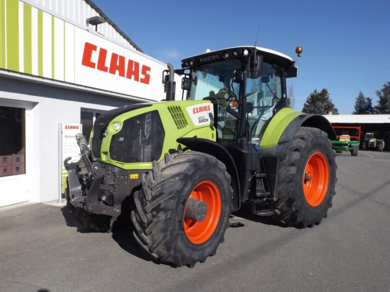 Traktor типа CLAAS axion 850 t4f cmatic, Gebrauchtmaschine в SAULZET (Фотография 1)