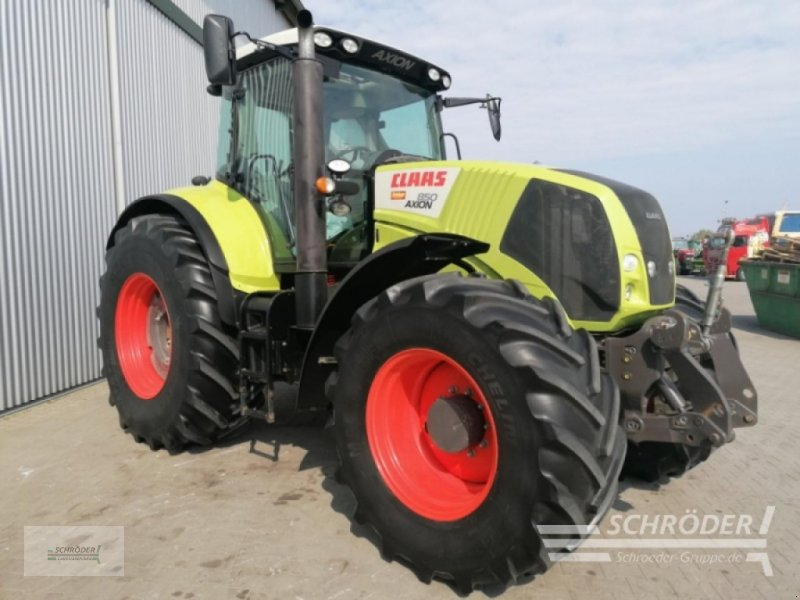 Traktor del tipo CLAAS Axion 850, Gebrauchtmaschine en Wildeshausen (Imagen 2)
