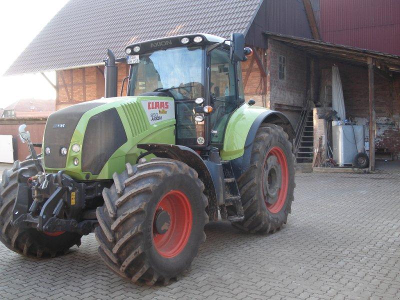 Traktor del tipo CLAAS Axion 850, Gebrauchtmaschine en Seeburg (Imagen 1)
