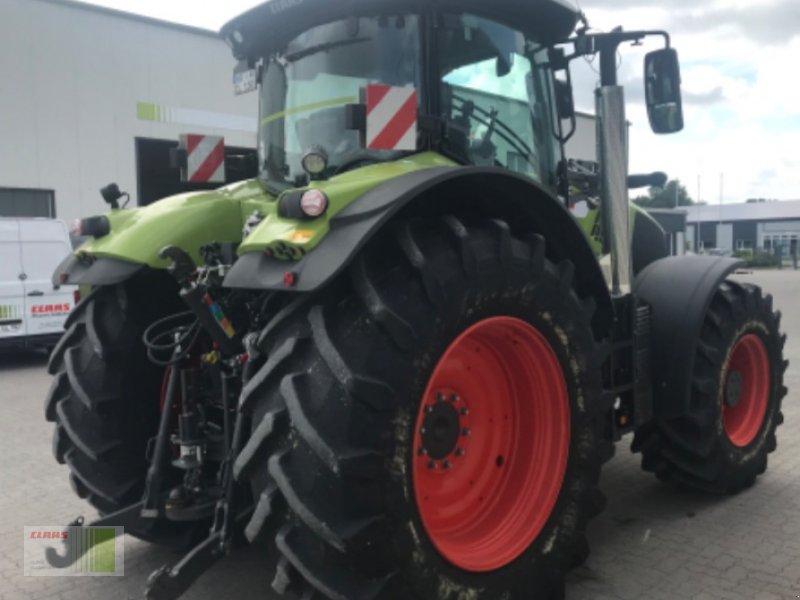 Traktor des Typs CLAAS AXION 870 CMATIC CEBIS #150.000 - Sonderedition, Vorführmaschine in Risum-Lindholm (Bild 4)