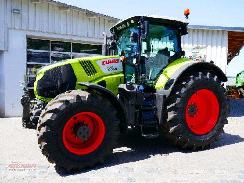 Traktor des Typs CLAAS AXION 870 CMATIC CEBIS, Gebrauchtmaschine in Dorfen (Bild 1)