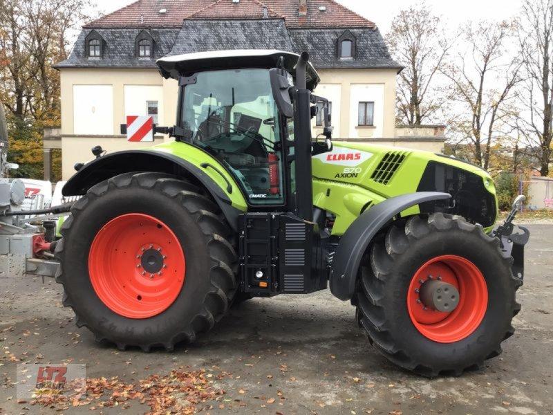 Traktor des Typs CLAAS AXION 870 CMATIC - STAGE V  CE, Neumaschine in Plauen-Oberlosa (Bild 1)