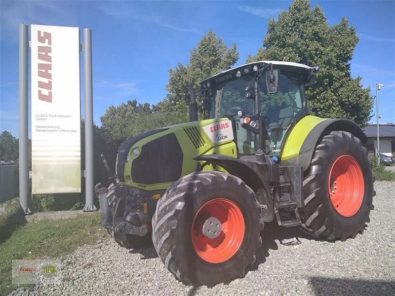 Traktor des Typs CLAAS AXION 870 CMATIC, Gebrauchtmaschine in Töging a. Inn (Bild 1)