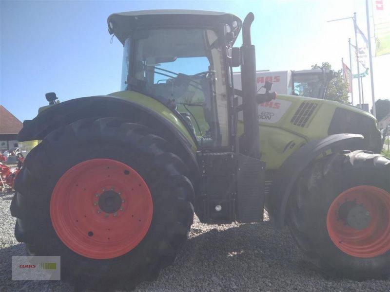 Traktor des Typs CLAAS AXION 870 CMATIC, Gebrauchtmaschine in Mengkofen (Bild 4)