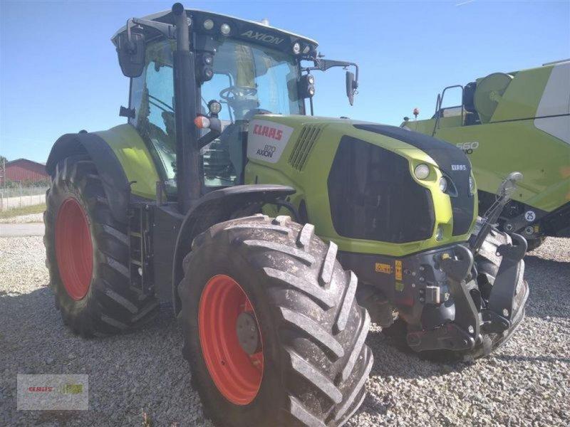 Traktor des Typs CLAAS AXION 870 CMATIC, Gebrauchtmaschine in Mengkofen (Bild 3)