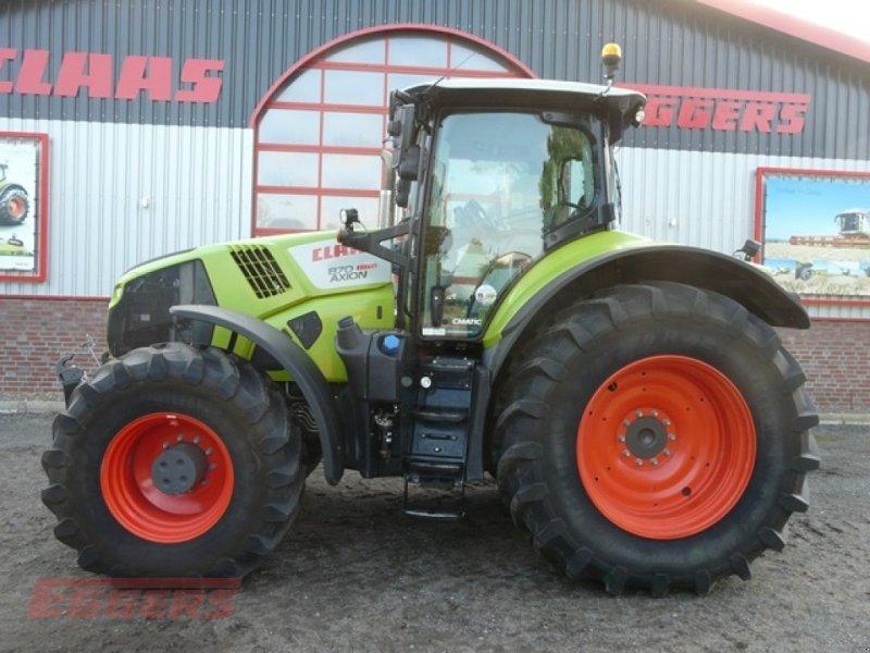 Traktor des Typs CLAAS Axion 870 CMATIC, Gebrauchtmaschine in Suhlendorf (Bild 1)