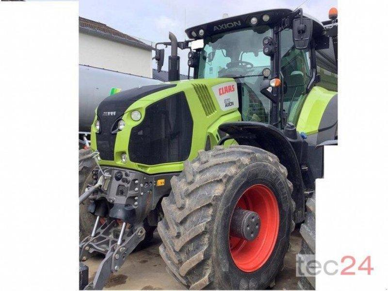 Traktor des Typs CLAAS Axion 870, Gebrauchtmaschine in Diez (Bild 1)