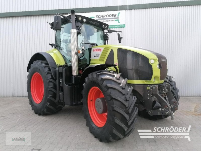 Traktor a típus CLAAS AXION 920 CMATIC, Gebrauchtmaschine ekkor: Wildeshausen (Kép 1)