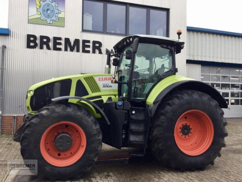 Traktor типа CLAAS AXION 930 GPS ready, 842 h, MICHELIN AXIOBIB IF. Aus dem Claas Marketing-Fuhrpark, Gebrauchtmaschine в Asendorf (Фотография 1)