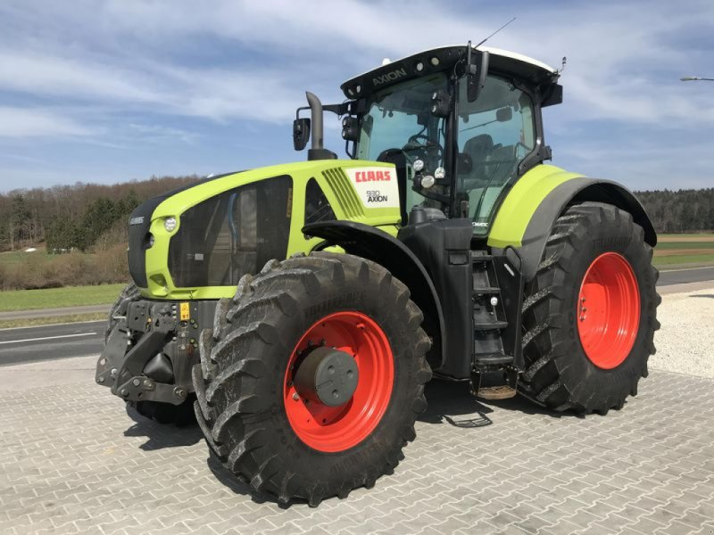 Traktor des Typs CLAAS AXION 930 STAGE IV / TIER 4, Gebrauchtmaschine in Birgland (Bild 1)