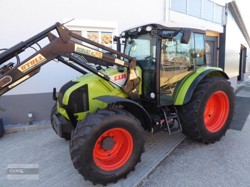 Traktor des Typs CLAAS Axos 330 CX mit Druckluft, Klima, Stoll Ind-Lader. Gepflegter Originalzustand, Gebrauchtmaschine in Langenzenn (Bild 1)