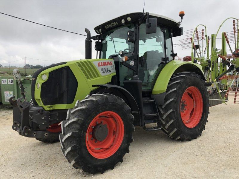 Traktor des Typs CLAAS CLAAS, Gebrauchtmaschine in CANCON (Bild 1)