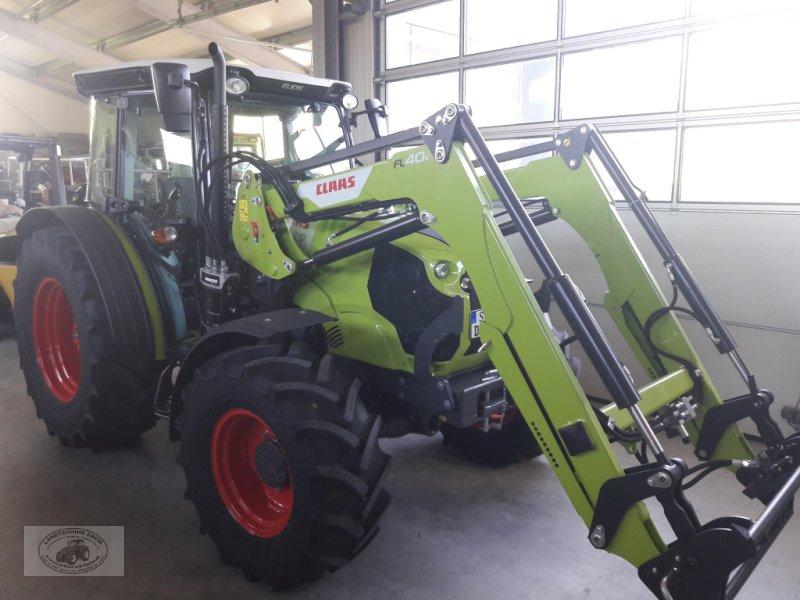 Traktor tip CLAAS Elios 210 mit Frontlader, Luftsitz, Breitreifen, aut.-AHK, Vollkabine, 40Km/h, 4Zyl.-Turbomotor, 3Jahre-Anschlussgarantie..., Gebrauchtmaschine in Tschirn (Poză 1)
