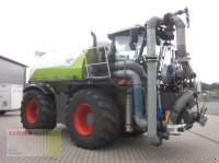 CLAAS XERION 3800 SADDLE TRAC mit SGT Gülletechnik 16 cbm, Frontansaugstation, Pflegeräder Traktor