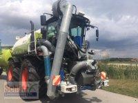 CLAAS Xerion 3800 Sattletrac, Ersteinsatz 2014, Güllegespann: SGT Aufbaufaß und Anhänger inkl. Bomech Vert Traktor
