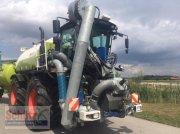 CLAAS Xerion 3800 ST, Güllegespann: SGT Aufbaufaß und Anhänger inkl. Bomech Verteiler, 18m AB, 32 m3 Gülle Traktor