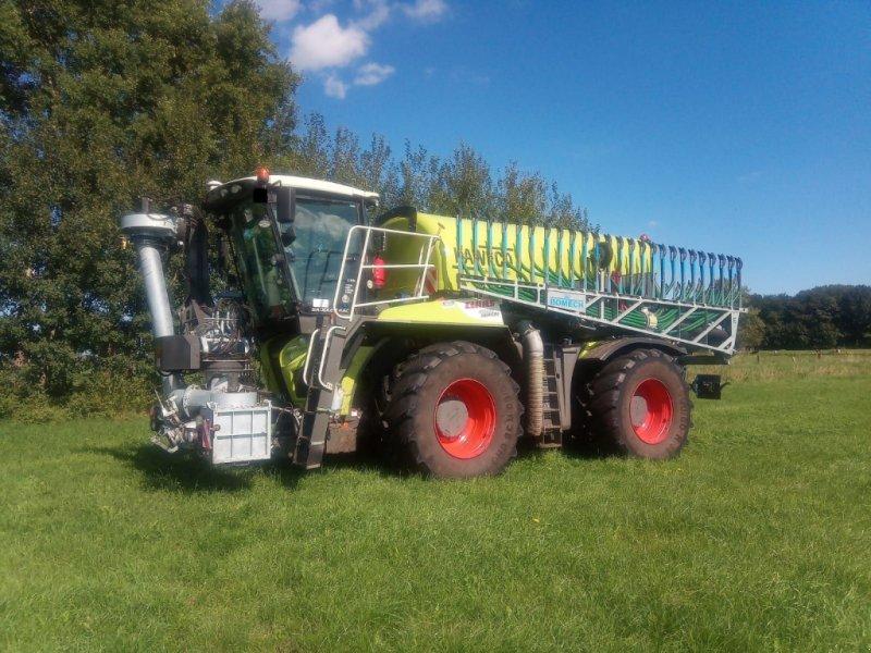 Traktor tipa CLAAS Xerion 4000 Saddle Trac BJ 2015 inkl. Kaweco Aufbaufass + Bomech Schleppschuh, Gebrauchtmaschine u Wagenfeld (Slika 1)