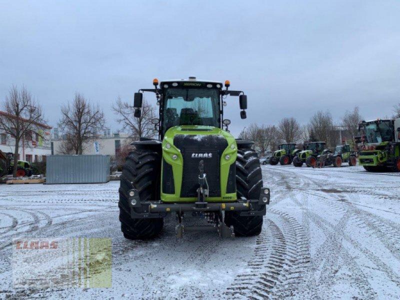 Traktor des Typs CLAAS Xerion 4000 Trac VC, Gebrauchtmaschine in Schwabhausen (Bild 1)