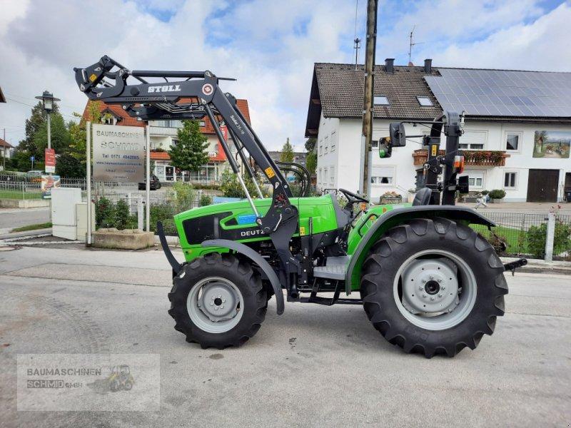 Traktor des Typs Deutz-Fahr 4080 E, Neumaschine in Stetten (Bild 1)