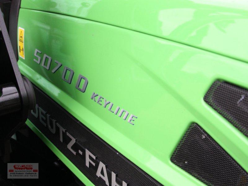 Traktor des Typs Deutz-Fahr 5070 D Keyline, Neumaschine in Ansbach (Bild 8)